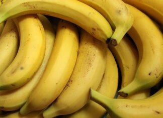 czy banany tuczą